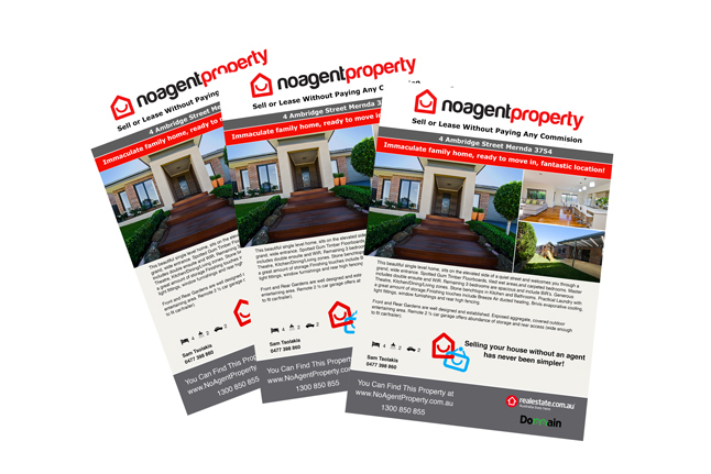 No Agent Property Brochure