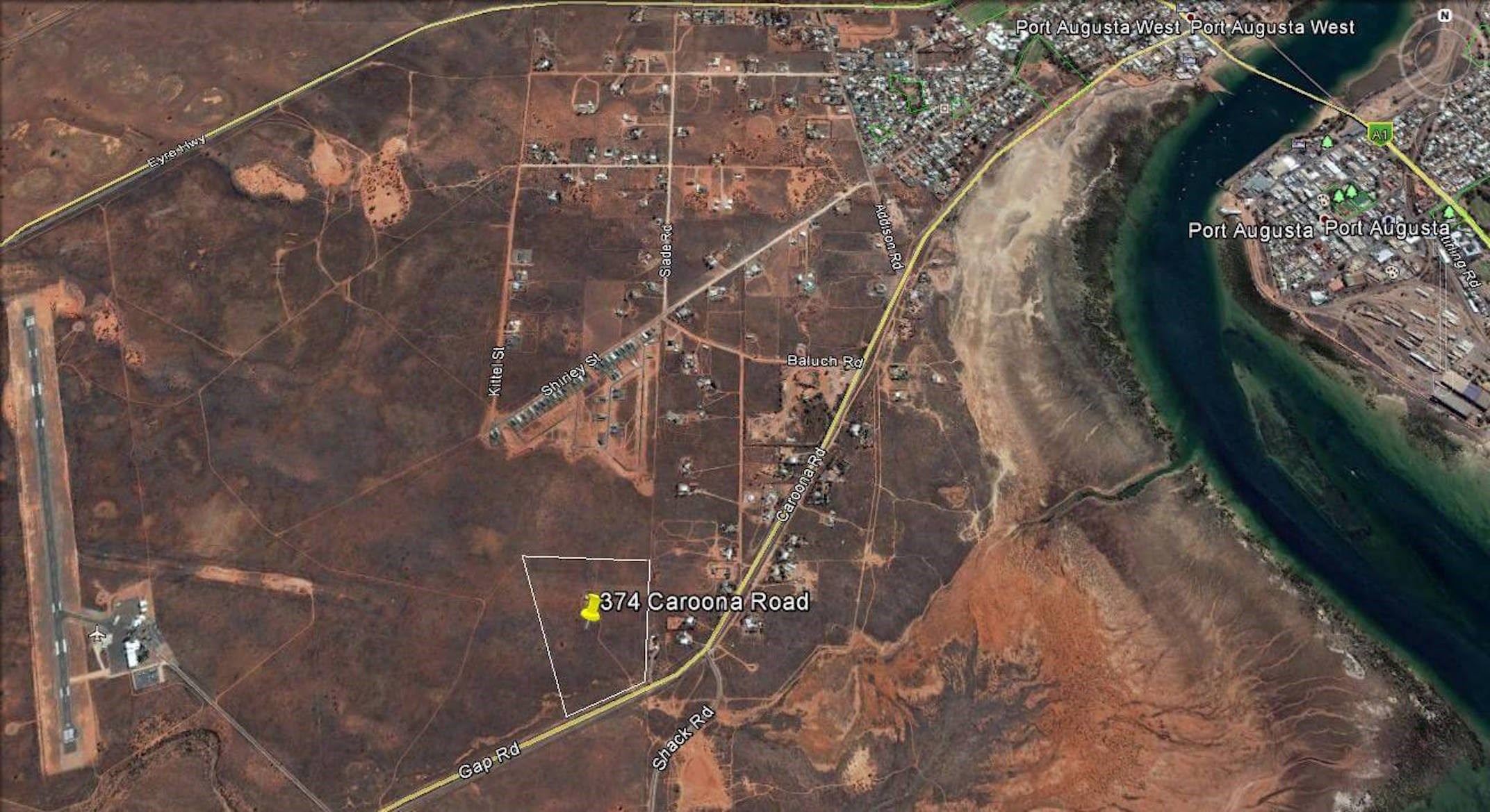 374 Caroona Road Port Augusta West SA 5700